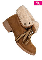 BLOWFISH Knick/ Karona FURR Lace Bootie earth fawn PU