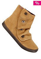 BLOWFISH Rabito Bootie leather chestnut cow suede