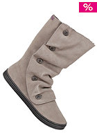 BLOWFISH Rammed FURR Boot leather grey cow suede