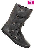 BLOWFISH Womens Hamish Boot mid furr black snowwashed pu