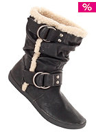 BLOWFISH Womens Hangout Boot low furr black relax pu