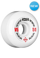 BONES Wheels 51mm- Stf Sidecut V5 white