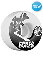 BONES Wheels 55mm- Spf Too Tone white