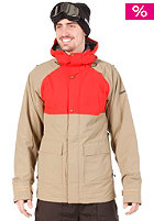 BONFIRE Aspect Jacket canvas/burnt