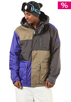 BONFIRE Basalt Jacket canvas/concord