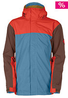 BONFIRE Emerson Jacket winter blue/torch