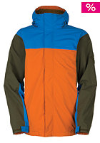 BONFIRE Emerson Snow Jacket sienna-b/cobalt