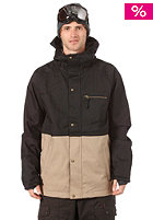Tanner Jacket black/canvas