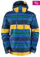 Trapper Snow Jacket true blue/govy print
