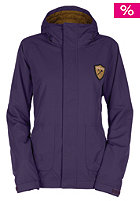 BONFIRE Womens Alberta Solid Snow Jacket plum