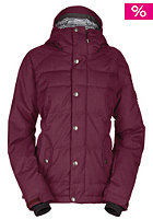 BONFIRE Womens Astro Jacket brick-bf