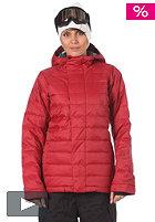 BONFIRE Womens Astro Snow Jacket crimson-b