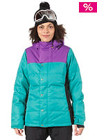 BONFIRE Womens Astro Snow Jacket evergreen b
