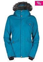 BONFIRE Womens Madison Snow Jacket solid indigo
