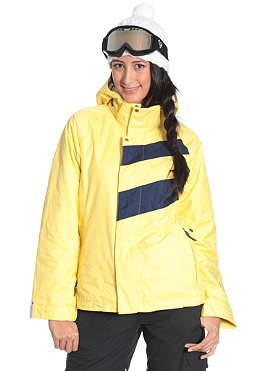 BONFIRE Womens Radiant Jacket 2011 wheat/marine