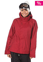 BONFIRE Womens Radiant Jacket crimson-b
