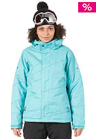 BONFIRE Womens Radiant Snow Jacket aquamarine-b