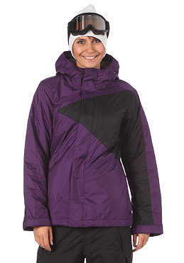 BONFIRE Womens Riley Jacket granet-b/black
