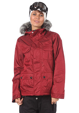 BONFIRE Womens Safari Jacket crimson-b