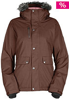 BONFIRE Womens Safari Snow Jacket bison