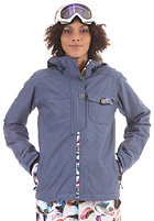 BONFIRE Womens Teddy Jacket denim