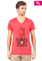 BOOM BAP Blondes S/S T-Shirt mixed fiery red