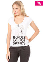 BOOM BAP Blondes S/S T-Shirt white