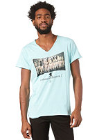 BOOM BAP Heaven S/S T-Shirt mixed aruba blue