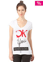 BOOM BAP Womens CK You S/S T-Shirt white