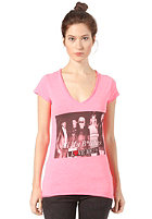 BOOM BAP Womens Groupies S/S T-Shirt mixed neon pink