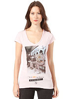 BOOM BAP Womens Lavomatic S/S T-Shirt mixed rose shadow