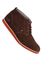 BOXFRESH Dalston Red Line Suede dark brown