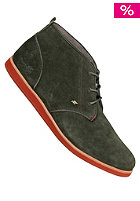 BOXFRESH Dalston Red Line Suede dark green