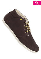 BOXFRESH Eavis Fur dark brown/ yellow