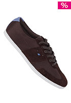 BOXFRESH Shock Mesh/Suede dark brown/true blue