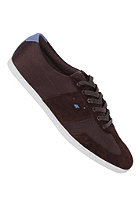 BOXFRESH Shockk Mesh/Suede dark brown/true blue