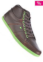 BOXFRESH Swapp CES Fur Leather dk brown/Lime