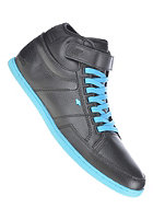 BOXFRESH Swich CS Leather black/cyan