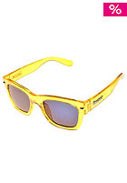 BRIGADA Big Shot Sunglasses electric clear yellow/blue mirror lens