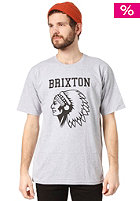 BRIXTON Anthem S/S T-Shirt heather grey