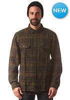 BRIXTON Archie L/S Shirt green/navy