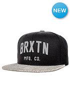 BRIXTON Arden 2 Snapback Cap black/light heather grey