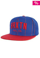 BRIXTON Arden 2 Snapback Cap blue/red