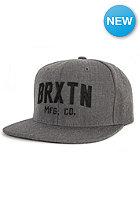 BRIXTON Arden 2 Snapback Cap charcoal/heather grey