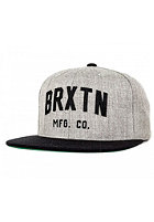 BRIXTON Arden 2 Snapback Cap light heather grey/black
