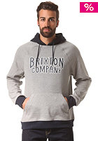 BRIXTON Bailey Hooded Sweat heather grey/navy
