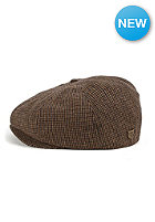 BRIXTON Brood Cap brown/black plaid