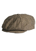 BRIXTON Brood Cap brown/khaki herringbone
