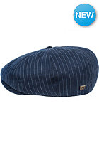 BRIXTON Brood Cap navy stripe