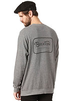 BRIXTON Coda Crewneck Sweat heather grey
